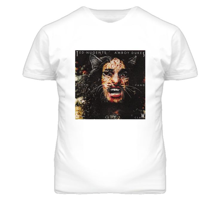 Dazed and Confused David Wooderson Ted Nugent T Shirt