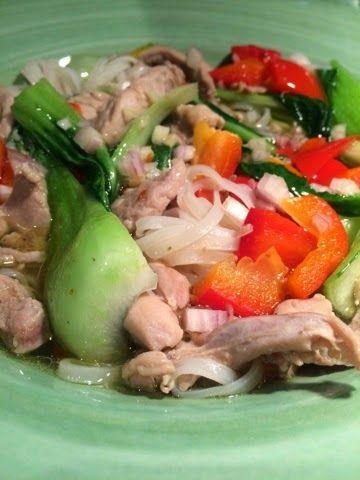 Mat, bak och allt som hör till kök: Pho - Vietnamesisk nudelsoppa