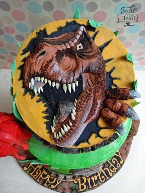 17 Best Ideas About T Rex Cake On Pinterest Dinosaur