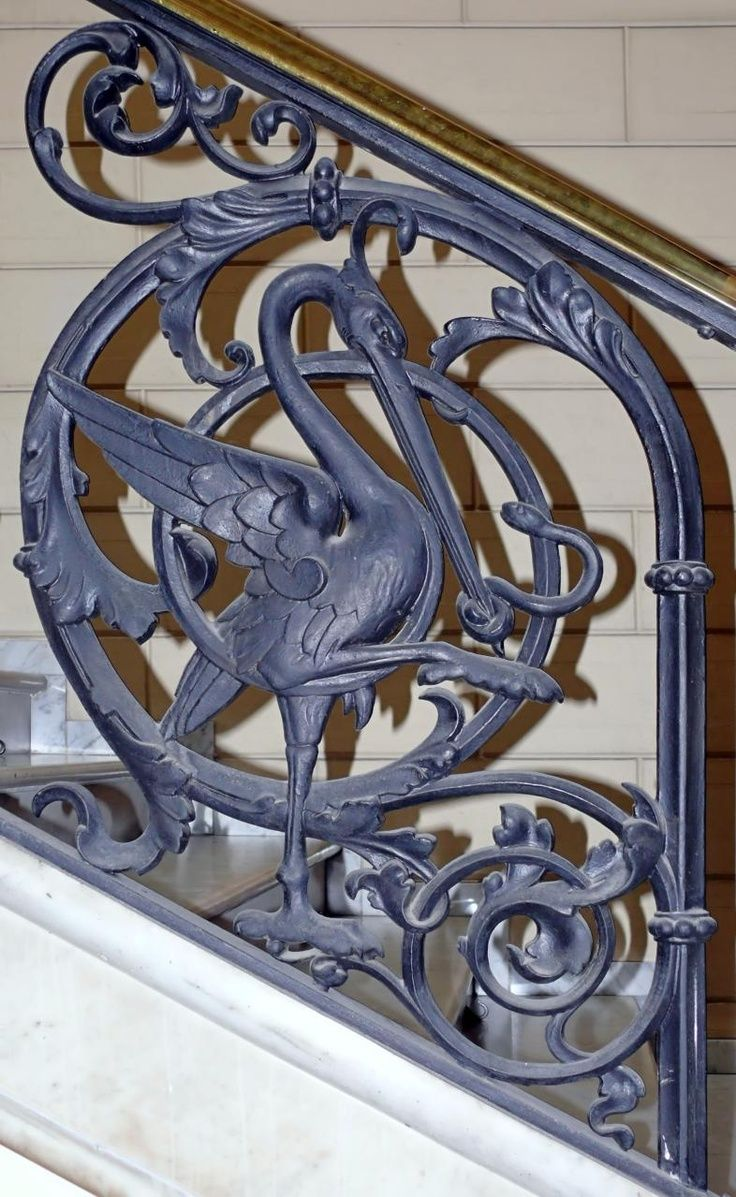 Pin antique garden gates in wrought iron an art nouveau style on - Find This Pin And More On Art Nouveau Sculptural Elements