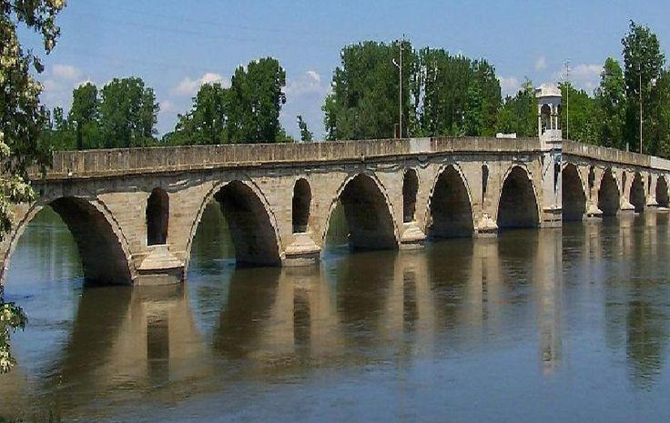 Edirne, Meriç köprüsü