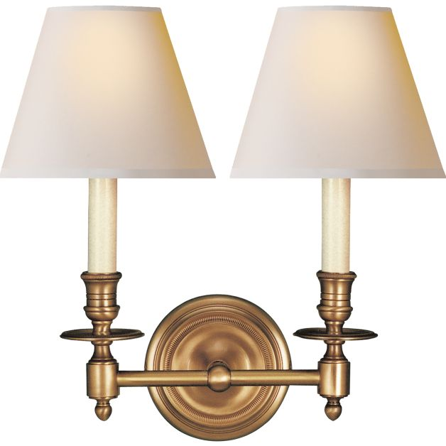 French Double Sconce