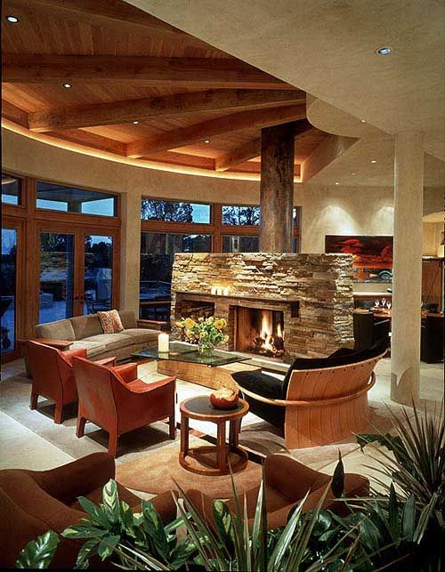 Modern Interior Design Of Santa Fe Residence By Brukoff Design Associates |  Modern Home