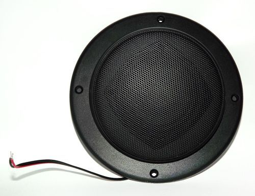 "2 1/2"""" Home RV Black Satellite Speaker for Theater Systems - Ceiling Wall Mount"