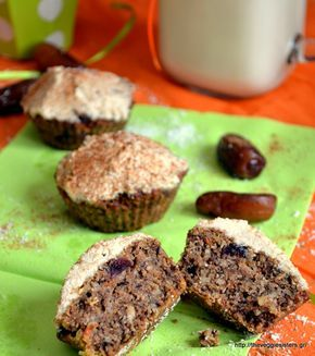 Flourless sugarless vegan carrot muffins: the best sweet treat for our kids!