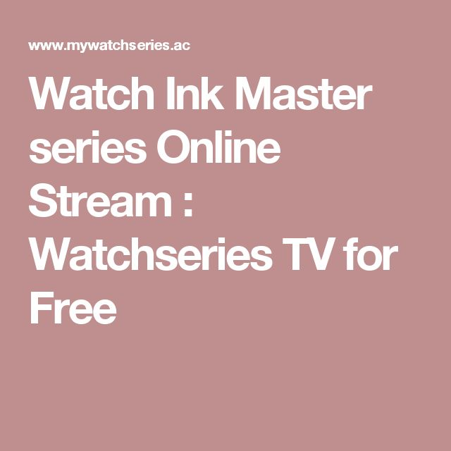 Watch Ink Master series Online Stream : Watchseries TV for Free