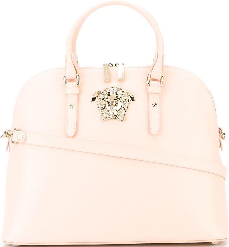 •Website: http://www.cuteandstylishbags.com/portfolio/versace-pink-medusa-tote/ •Bag: Versace Pink Medusa Tote