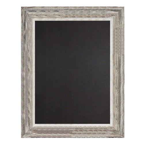 "Decorative Chalkboards For Home: Decorative Wood Framed Chalkboard 22"" X 28"" (Distressed"