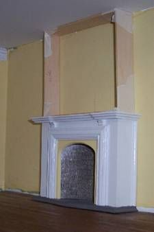 How to build Dollhouse Fireplace