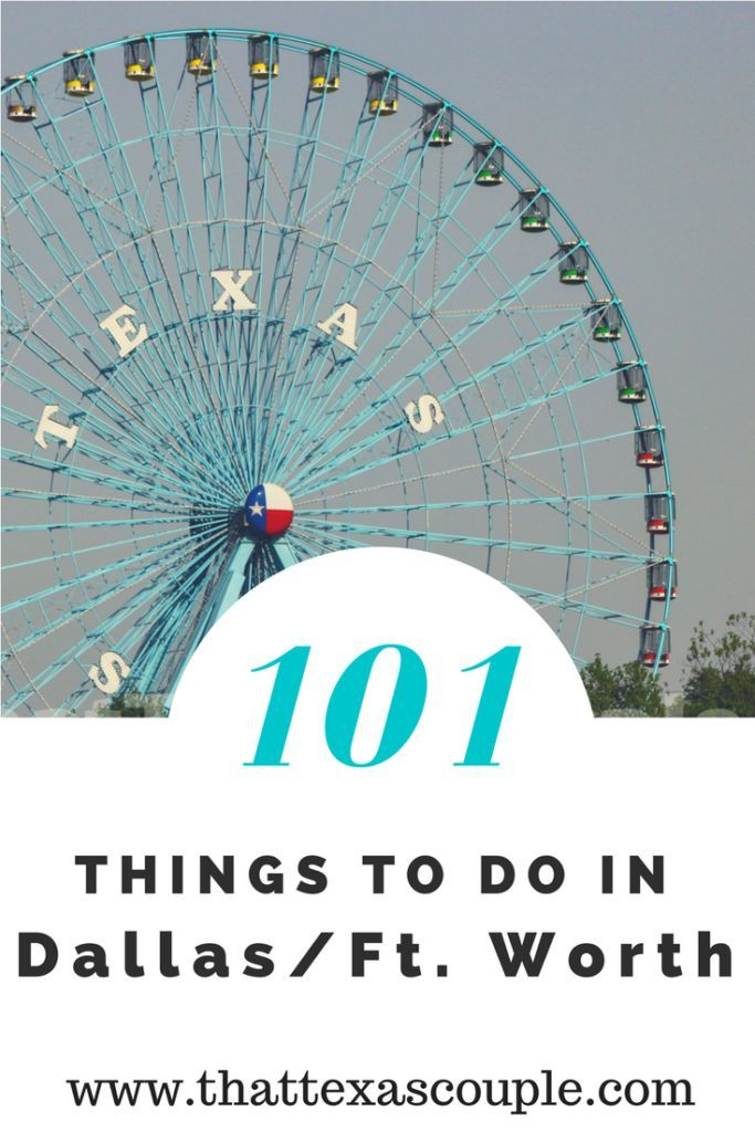 Planning a trip to Dallas? Everyone knows that everything is bigger in Texas, and Dallas is no exception. You won't run out of things to do in the Dallas/Fort Worth area, that's for sure. We have a great list to get you started. Our 101 Things to do in Da
