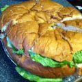 hawaiian bread sandwich