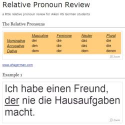 a few examples of relative pronouns in sentences