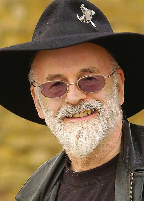 "Sir Terence David John ""Terry"" Pratchett, OBE (born 28 April 1948) is an English author of fantasy novels, especially comical works.[4] He is best known for the Discworld series of about 40 volumes"