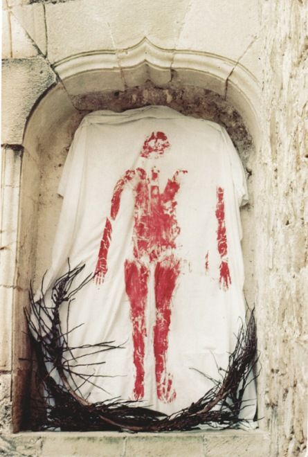 Ana Mendieta Untitled (Silueta Series, Mexico)