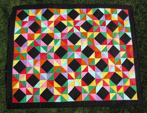 russian waves quilt