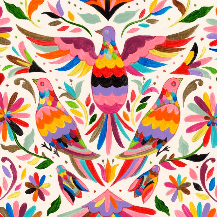 """Pigeon Otomi"" by Sylvia Ji 