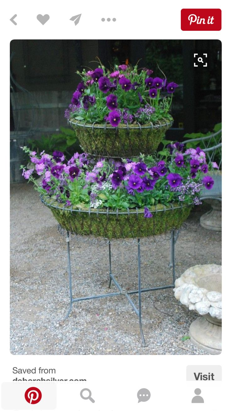 34 best images about wire planters plant stands and. Black Bedroom Furniture Sets. Home Design Ideas