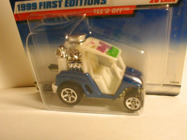 1999 Hot Wheels First Editions #9 TEE`D OFF blue & white variation golf cart | Toys & Hobbies, Diecast & Toy Vehicles, Cars, Trucks & Vans | eBay!