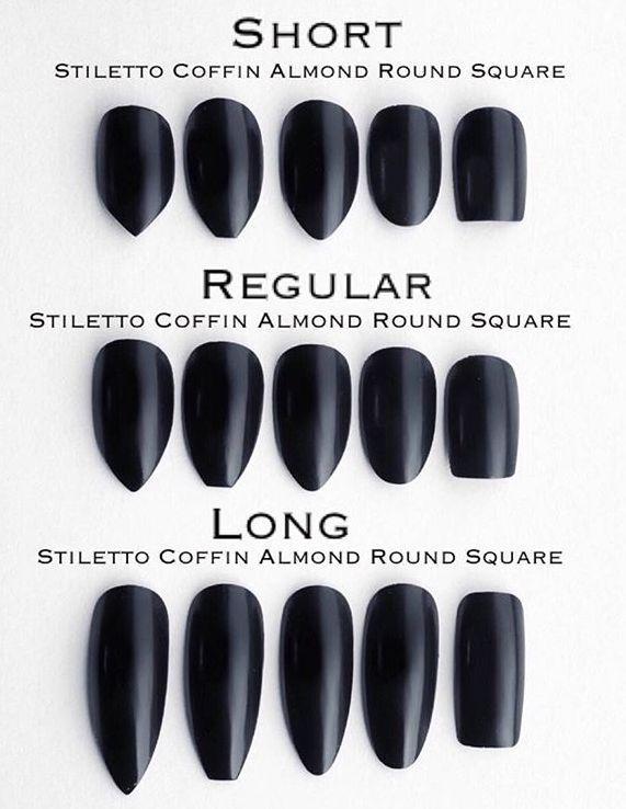 Acrylic Nail Types Acrylic Nail Types Types Of Nails Nails