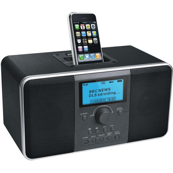 Big W DAB+ Internet radio with iPod dock