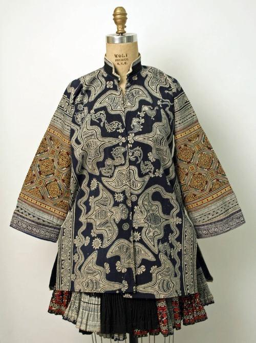 Chinese (Miao-Gejia) ensemble via The Costume Institute of the Metropolitan Museum of Art