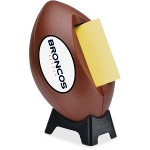 office supplies denver. denver broncos nfl postit note dispenser supplygeekscom office supplies e