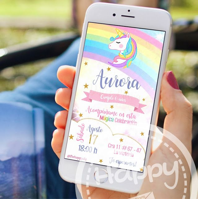 Be Happy Tarjeta De Invitación Digital En 2019 Tarjetas