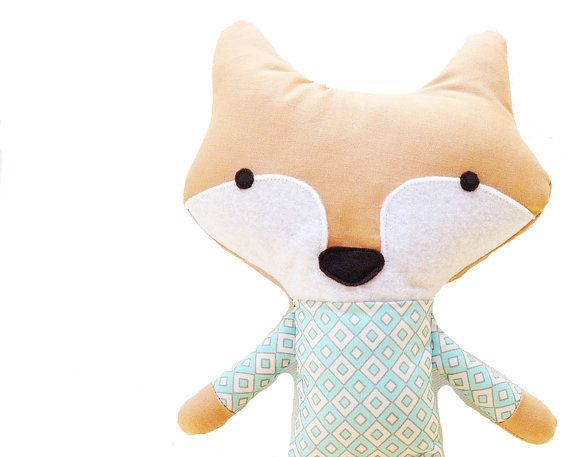 "Fox Sewing Pattern Fox Doll PDF Softie Toy Pattern. $10.00, via Etsy seller ""G and G Patterns."""