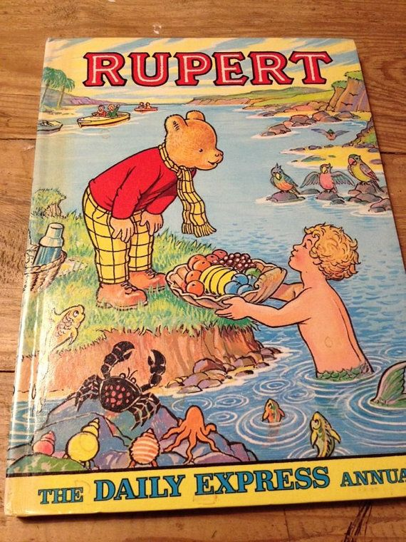 1975 Rupert the Bear ANNUAL / BOOK Daily Express by Alexdundee
