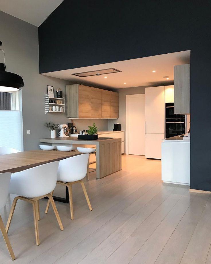 Www.pimpelwit.nl – inspiration intérieure – salon atmosphérique – style de la salle de séjour – salle à manger – table à manger – couleur