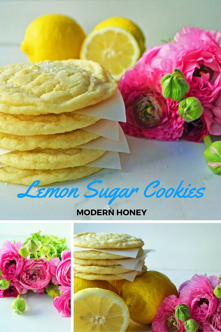 This cookie is bursting with fresh lemon flavor without being too tart. If you could imagine a marriage between a soft sugar cookie and a tangy lemon, you will get this delectable lemon sugar cookie.