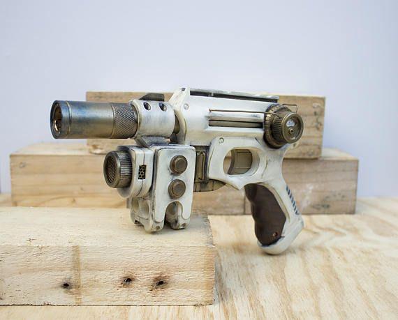 Weathered Imperial Guard Steampunk Gun - Nerf Mod