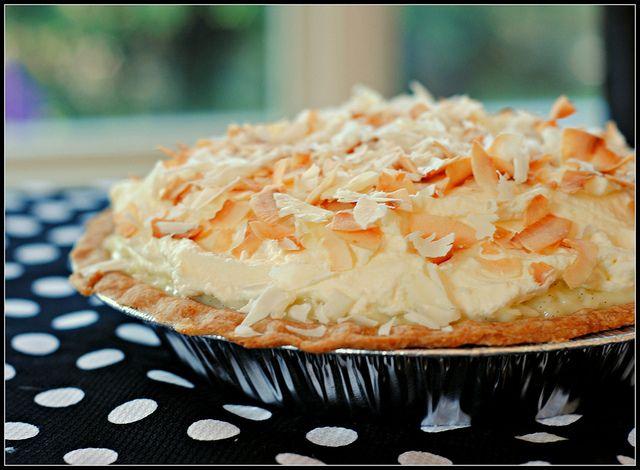 coconutcream1 by preventionrd,: Baking Desserts, Delect Desserts, Recipes Desserts, Coconut Pies, Danger Desserts, Coconut Cakes, Cooking, Triple Coconut, Stevia Coconut Cream Pies