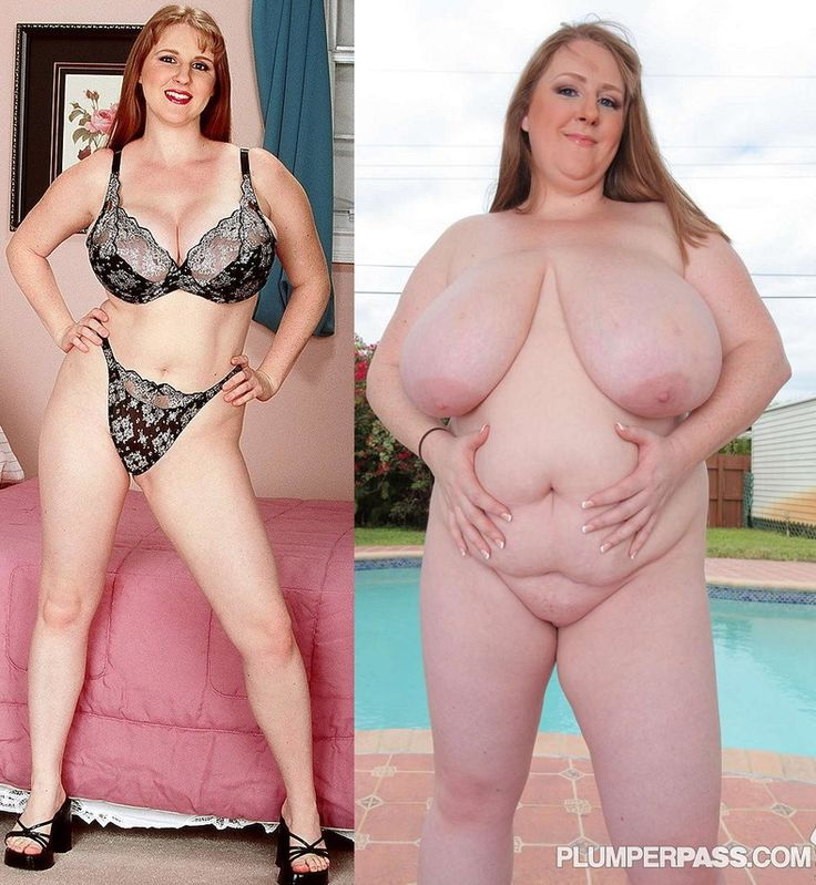 Naked overweight milf