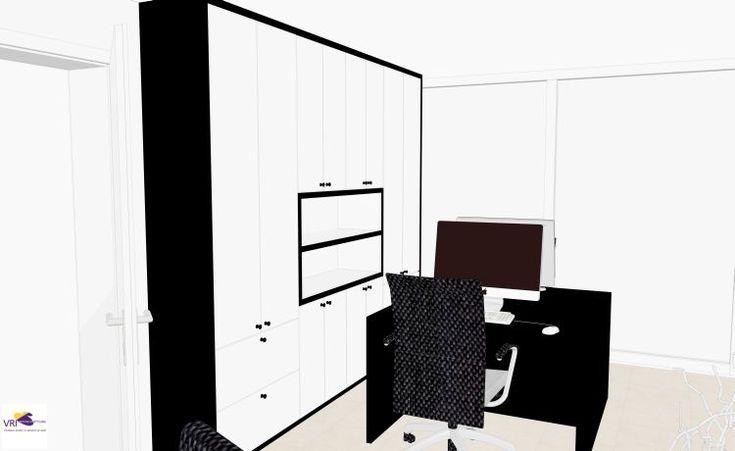 1000 images about 3d impression on pinterest 3d sketch bureaus and farrow ball - Ontwerp huis kantoor ...