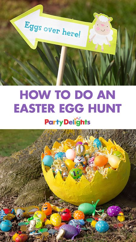 It wouldn't be Easter without an Easter egg hunt! Whether you're throwing an Easter party or looking for a fun Easter activity for kids on Easter Sunday, read our guide to how to do an Easter egg hunt for good Easter egg hiding places, free printable East