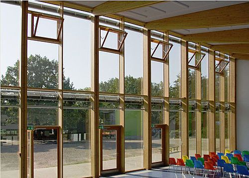 Wood Mullions For Windows : The best images about curtain wall windows on pinterest