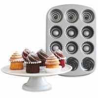 This looks so nice and easy. Nordic Ware Mini Filled Cupcake Pan