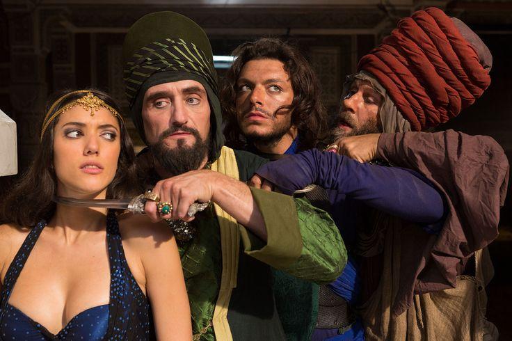 Les nouvelles aventures d'Aladin - La princesse Shallia Sofia and Aladin with   Le vizir