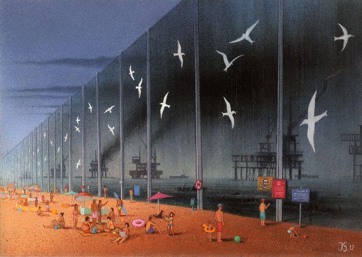 Pawel Kuczynski - Art around the world : http://www.maslindo.com
