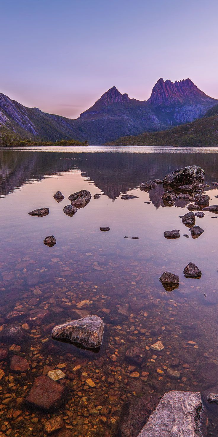 Cradle Mountain - by Paul Pichugins