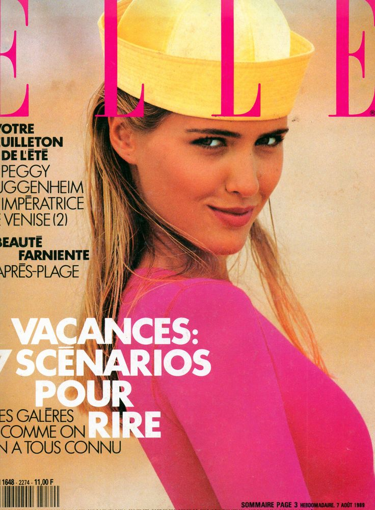 French ELLE Cover Judith Masco