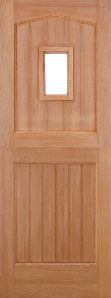 Leeds Doors Barnburgh Stable Hardwood 78x30 External Door   External Doors    Stable Doors   Barnburgh