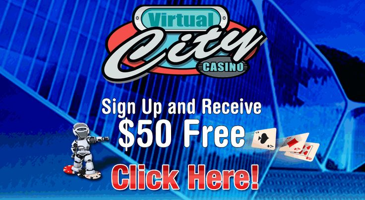 VIRTUAL - CITY promises $50 free on download as well as an additional sign up bonus of up to $480 on your first deposits. It is important at this stage to note that when they say $50 FREE they really do mean free as there is no purchase required for this bonus. The casino will simply ask you to register a credit card so they can pay the bonus money into your CasinoRewardsGroup account and you will be ready to play.