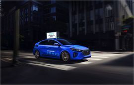 Hyundai WaiveCar team up to offer Ioniq EV car sharing for free     - Roadshow  Enlarge Image  Whos gonna turn down a free car for two hours? Photo by                                            Hyundai                                          Aside from death theres one other universal constant  a human beings love of free stuff. Hyundai is taking advantage of that biological imperative and offering up free car sharing in order to get the word out about its all-electric Ioniq.  Hyundai…