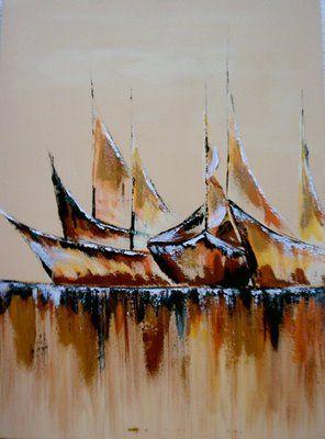 Pintura em Tela: Julho 2009