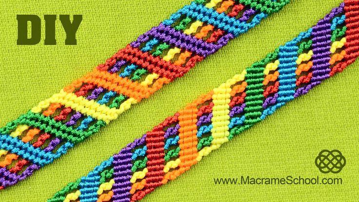 Colorful Rainbow Bracelet Tutorial