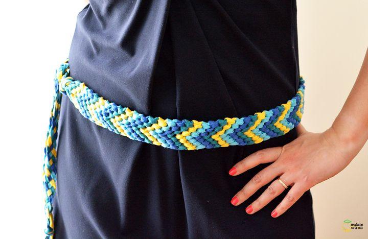une ceinture version bracelet brésilien