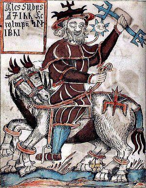 Wodan and Slepnir