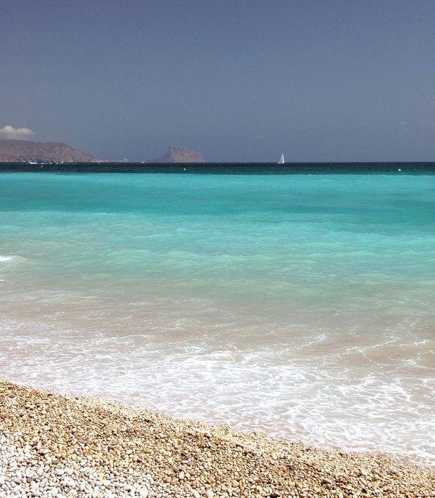 Albir Beach - From Albir Playa Hotel website
